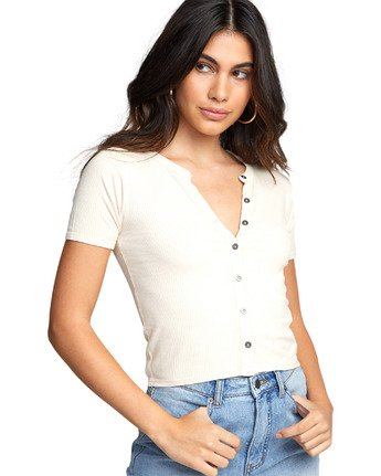 7 RETREAT TOP Brown W9043RRE RVCA