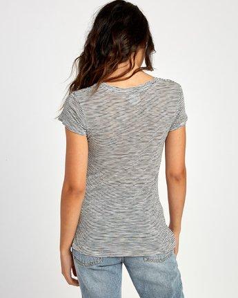 2 Vinyl Jersey Knit T-Shirt White W904VRVI RVCA