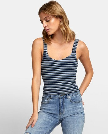 0 MARGOT TANK TOP Blue W9081RMR RVCA