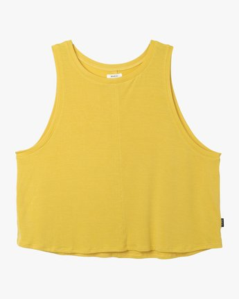 5 Happy Place Tank Top Yellow W908TRHA RVCA