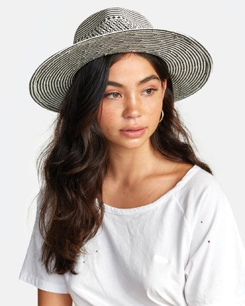 1 JANE PANAMA HAT Purple WAHW2RJA RVCA