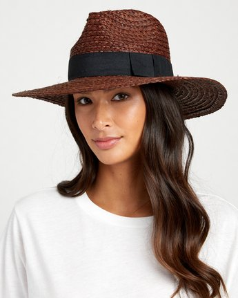rvca, ROBYN HAT, DESERT BROWN (dbw)