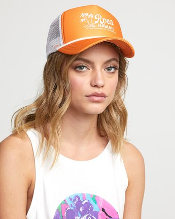 rvca, TROPICAL HAT, MARMALADE (mla)
