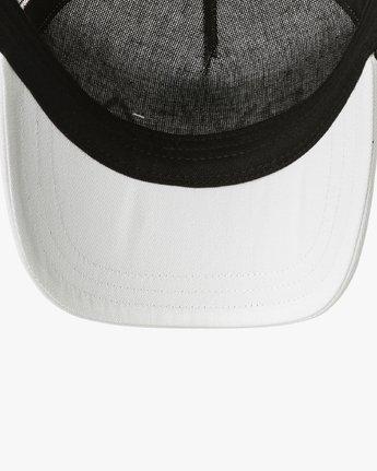 2 Title Trucker Hat White WAHWNRTI RVCA