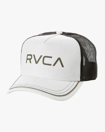 0 Title Trucker Hat White WAHWNRTI RVCA