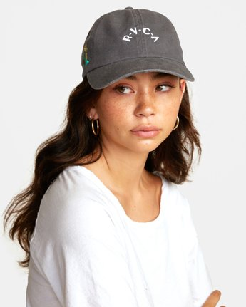 0 STAPLE DAD HAT Green WAHWWRST RVCA