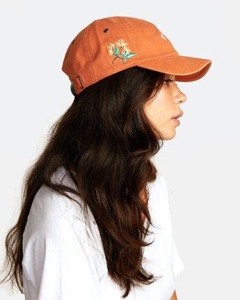 1 STAPLE DAD HAT Orange WAHWWRST RVCA