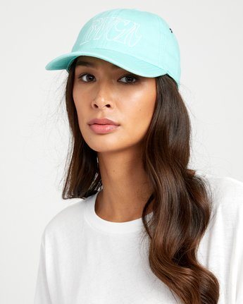 2 STAPLE DAD HAT Green WAHWWRST RVCA