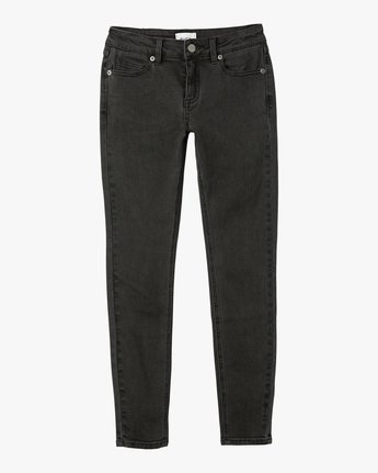 6 Dayley Mid Rise Denim Jeans  WCDP02DA RVCA