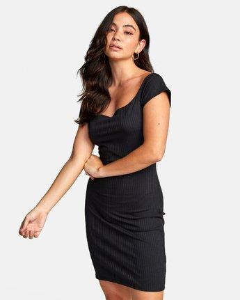 3 LIBRA DRESS Black WD022RLI RVCA