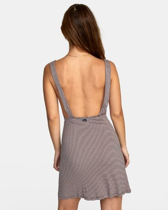 5 BRONWEN DRESS Grey WD032RBR RVCA