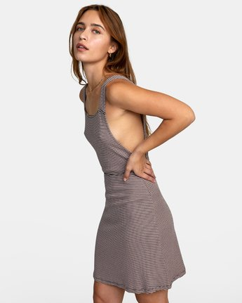 3 BRONWEN DRESS Grey WD032RBR RVCA