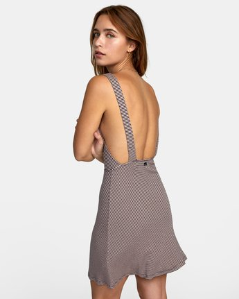 4 BRONWEN DRESS Grey WD032RBR RVCA