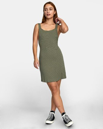 1 BRONWEN DRESS Brown WD032RBR RVCA