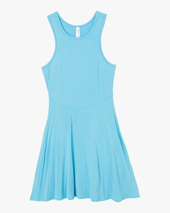 4 Iris Tank Dress Blue WD03PRIR RVCA