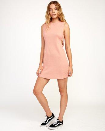 5 Talin Dress Brown WD03TRTA RVCA