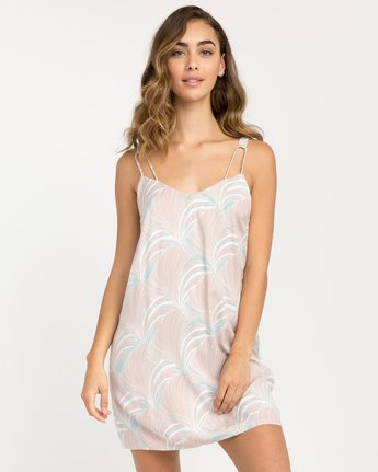 0 Marigold Printed Dress Grey WD04PRMA RVCA