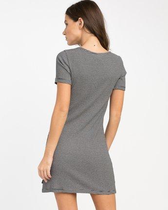 2 Zip It Ribbed Dress Black WD05NRZP RVCA