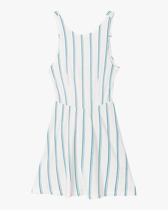 5 Peony Striped Dress White WD05PRPE RVCA