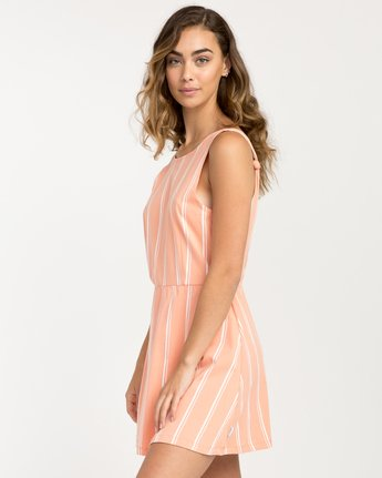 1 Peony Striped Dress Pink WD05PRPE RVCA