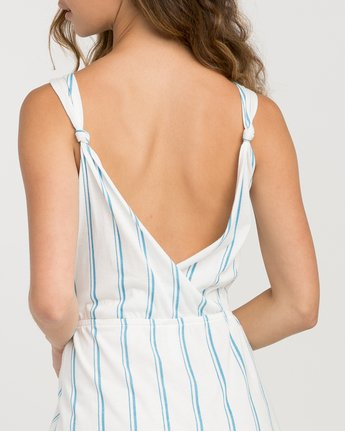 3 Peony Striped Dress White WD05PRPE RVCA