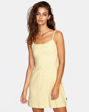 1 TWIGG DRESS White WD062RTW RVCA