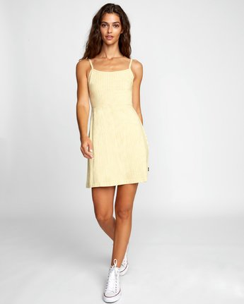 2 TWIGG DRESS White WD062RTW RVCA
