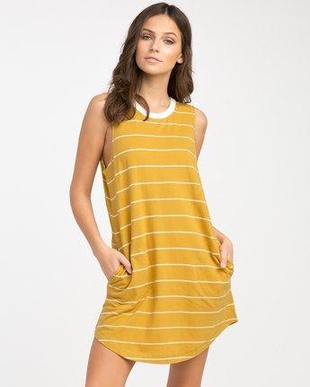 0 Byrdie Striped Knit Dress  WD06NRBY RVCA
