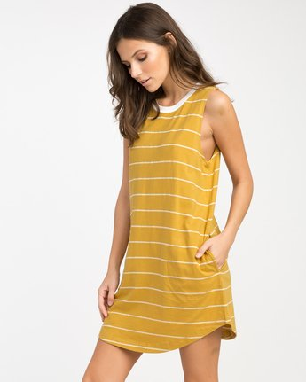1 Byrdie Striped Knit Dress  WD06NRBY RVCA