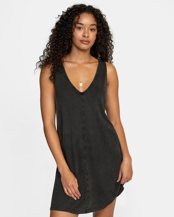 4 LOW DEF DRESS Black WD073RLO RVCA