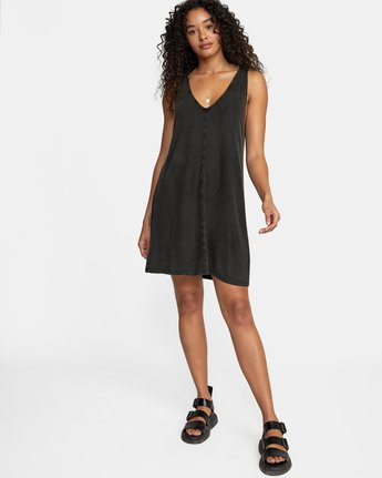 7 LOW DEF DRESS Black WD073RLO RVCA