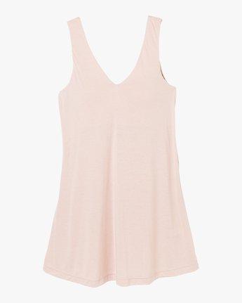 4 Chances Knit Tank Dress Grey WD07NRCH RVCA