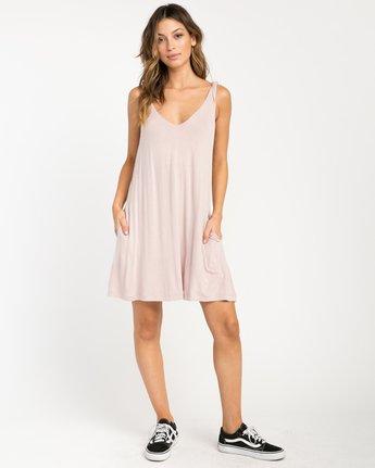 3 Chances Knit Tank Dress Grey WD07NRCH RVCA