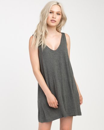 0 Chances Knit Tank Dress  WD07NRCH RVCA