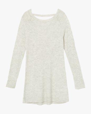 5 De La Sweater Dress Grey WD07SRDE RVCA