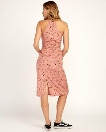 2 Cece Woven Midi Dress Brown WD07TRCE RVCA