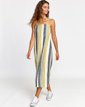 1 TENSE DRESS White WD082RTE RVCA