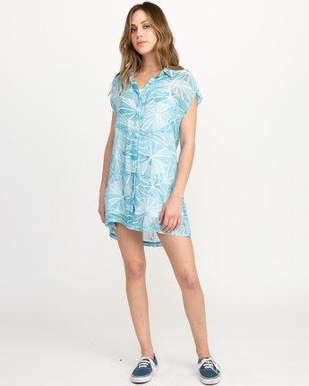 3 Michelle Blade Calapan Dress Blue WD08QRCA RVCA