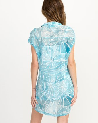 2 Michelle Blade Calapan Dress Blue WD08QRCA RVCA