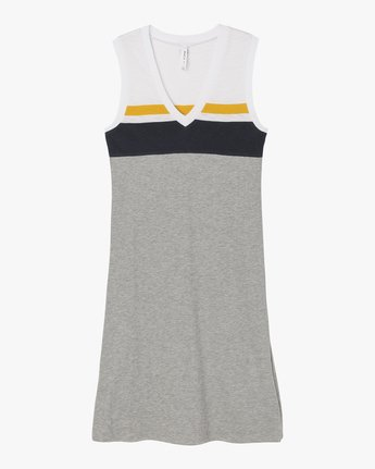 4 Scorekeeper Midi Dress Grey WD09NRSC RVCA