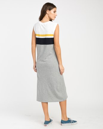 2 Scorekeeper Midi Dress Grey WD09NRSC RVCA
