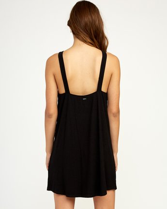 2 Brandy Knit Dress Black WD09TRBR RVCA
