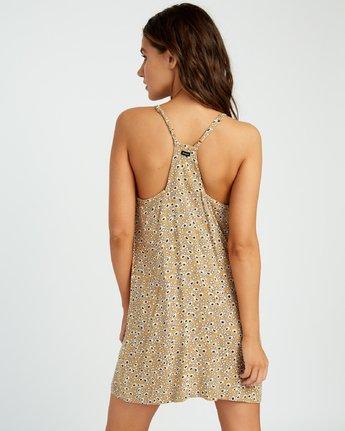 2 Fluke Printed Dress Yellow WD09URFL RVCA