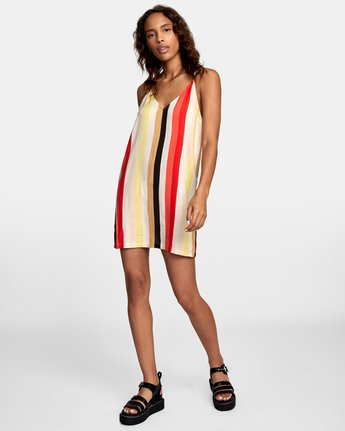 1 Fluke Printed Dress Grey WD09URFL RVCA