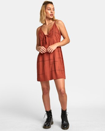 4 Capital Knot Tank Dress  WD09WRCA RVCA