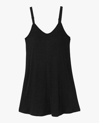4 Switchback Knit Tank Dress Black WD10NRSW RVCA