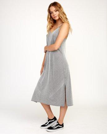 2 Layla Knit Midi Dress Black WD10TRLA RVCA