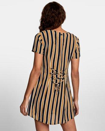 4 Pebble Button-Up Dress Black WD10VRPE RVCA