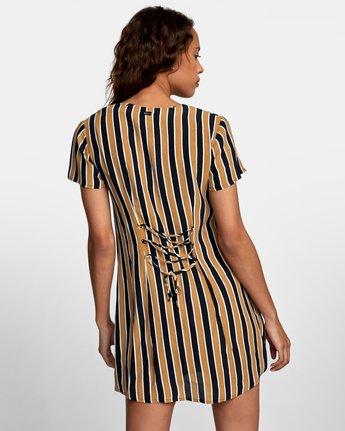 3 Pebble Button-Up Dress Black WD10VRPE RVCA