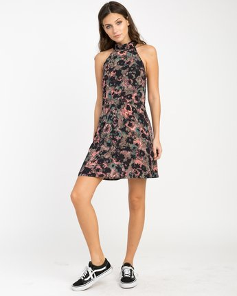 3 Kingsman Floral Dress  WD11NRKI RVCA